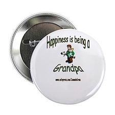 HAPPY GRANDPA Button