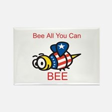 Bee all you can BEE Rectangle Magnet (10 pack)
