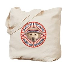 Yellow Dog II Tote Bag