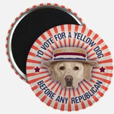 """Yellow Dog II 2.25"""" Magnet (10 pack)"""