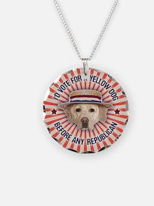 Yellow Dog II Necklace