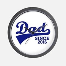 Dad 2016 Wall Clock