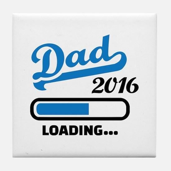 Dad 2016 Tile Coaster