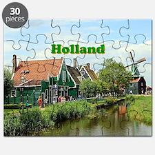 Unique Windmills Puzzle