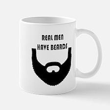 Real Men Have Beards Mugs