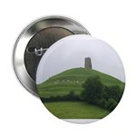 Glastonbury Tor Button