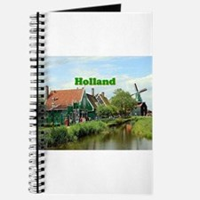 Holland: Dutch windmill village Journal