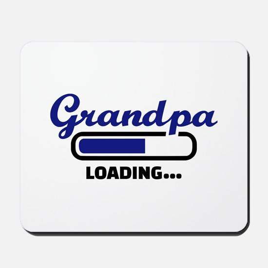 Grandpa loading Mousepad