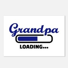 Grandpa loading Postcards (Package of 8)