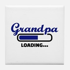 Grandpa loading Tile Coaster