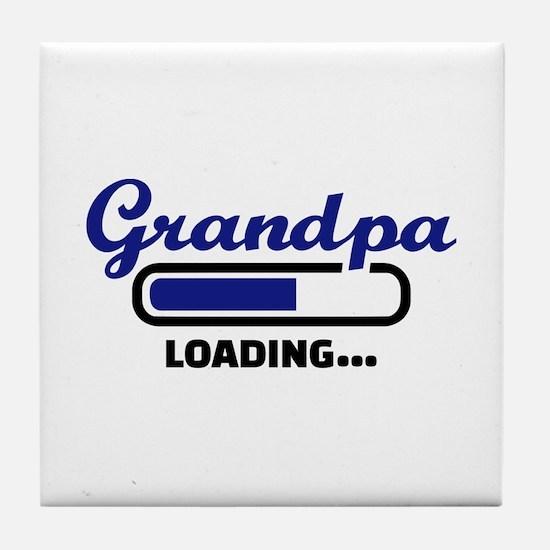 Grandpa loading Tile Coaster