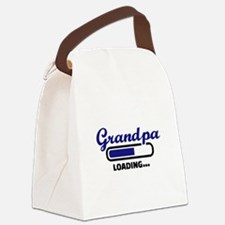 Grandpa loading Canvas Lunch Bag