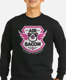 Flying Pig Air Bacon Long Sleeve T-Shirt
