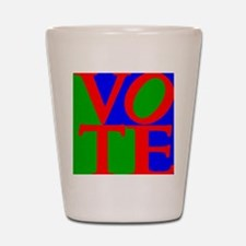 Funny Vote Shot Glass