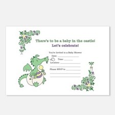 Shower Invitation inside Postcards (Package of 8)