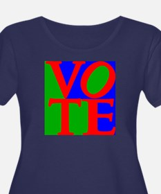 Exercise the Right to Vote Plus Size T-Shirt