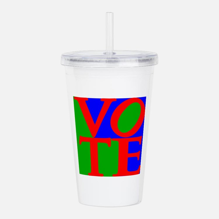 Exercise the Right to Acrylic Double-wall Tumbler