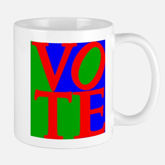 Exercise the Right to Vote Mugs