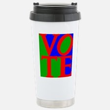 Exercise the Right to V Stainless Steel Travel Mug