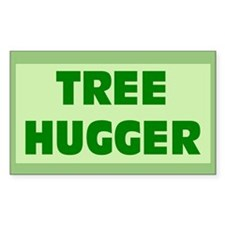TREEHUGGER Rectangle Decal