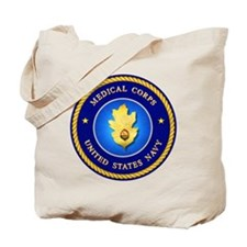 Navy Medical Corps Tote Bag