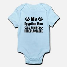 My Egyptian Mau cat is simply irre Infant Bodysuit