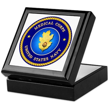 Navy Medical Corps Keepsake Box