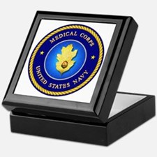Navy Medical Corps Keepsake Box