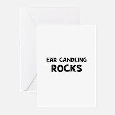 Ear Candling Rocks Greeting Cards (Pk of 10)