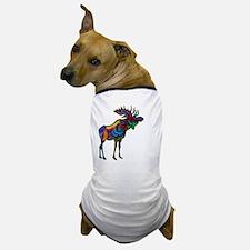 Unique Bull moose Dog T-Shirt
