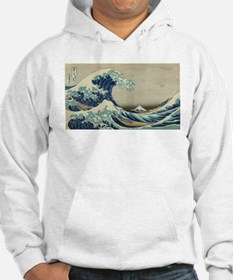 Vintage poster - The Great Wave Jumper Hoody