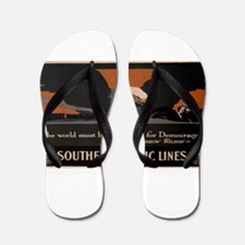 Vintage poster - Southern Pacific Flip Flops