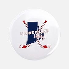 "Rhode Island Hockey 3.5"" Button (100 pack)"