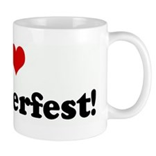 I Love Oktoberfest! Mug