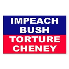 IMPEACH Rectangle Decal