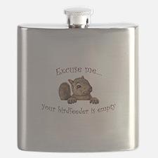 Excuse me...your birdfeeder is empty Flask