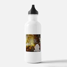 walk the path Sports Water Bottle