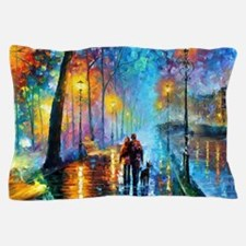 Evening Walk Pillow Case
