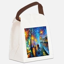 Evening Walk Canvas Lunch Bag