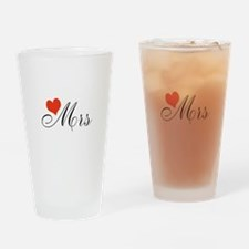 Unique Mr. and mrs. Drinking Glass