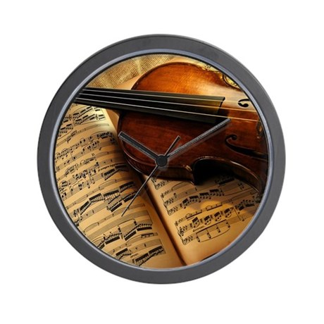 Music Clocks Music Wall Clocks Large Modern Kitchen Clocks