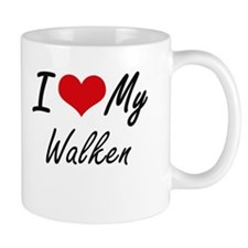 I Love My Walken Mugs