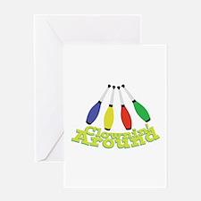 Clownin Around Greeting Cards