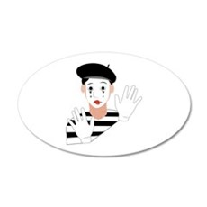 Mime Wall Decal