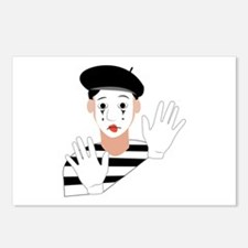 Mime Postcards (Package of 8)