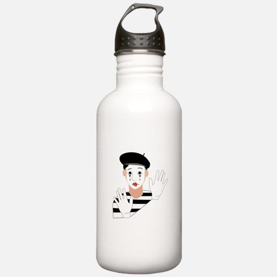 Mime Water Bottle