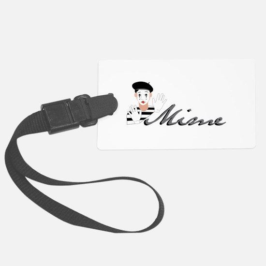 Mime Luggage Tag