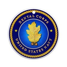 Navy Dental Corps Ornament (Round)