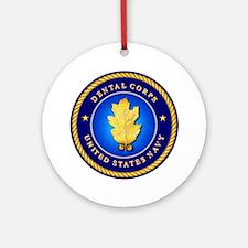 Navy Dental Corps Ornament (Round)