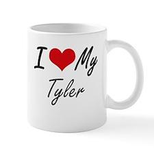 I Love My Tyler Mugs